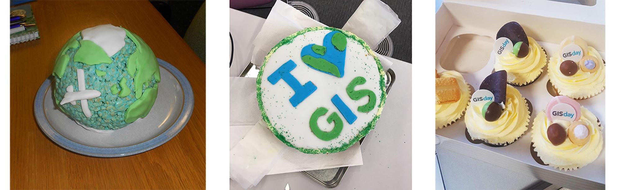 GIS Day cakes 2017